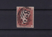 great britain penny red 1841 imperf stamp ref r13678