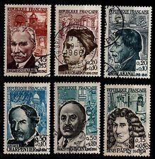 PIPOLES de 1962, Oblitérés = Cote 17 € / Lot Timbres France 1345 à 1350