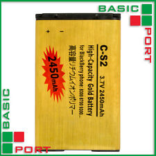 2430 mAh C-S2 High Capacity Gold Battery for BlackBerry 8300 / 8700 / 9300