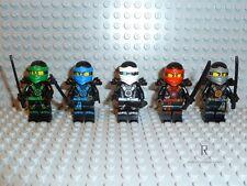 LEGO® Ninjago - 5 Ninjas aus 70751 ZX Lloyd Cole Kai Zane Jay 70734 70738 NEU