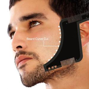 Bartschablone Rasierschablone Bartvorlage Bartschneider Bartkamm Bartpflege Tool