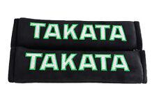 X2 TAKATA BLACK SHOULDER PADS DINAMICA MICRO-FIBER SUEDE COVER