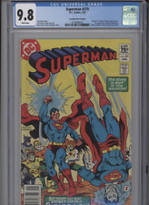 SUPERMAN #379 MT 9.8 CGC HIGHEST 1 OF 1 CANADIAN PRICE VARIANT ANDRU COVER WHITE