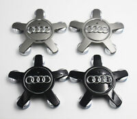 4PCS/Set 135mm Alloy Wheel Center Cap Hub Emblem 4F0601165N For AUDI A4 A5 A6 Q3