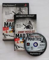 Jonny Moseley Mad Trix Sony PlayStation 2 PS2 2001