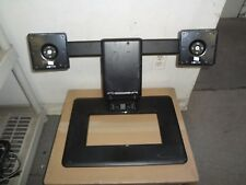 "HP AW664AA  Adjustable Dual Monitor Display Stand  17"" To 24"" Screen"