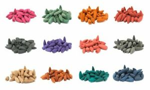 Back Flow Incense Cones - Many Scents Available (Offer 3 for 2)
