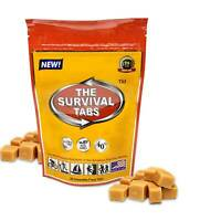 Survival tabs 2 days 24 tabs emergency food supply survival food butterscotch