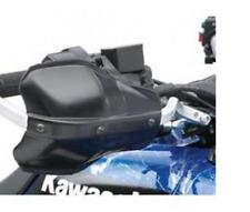 Kawasaki Mano Protezioni KFX700 KFX 700 2004-2009 Nero Alluminio Atv KFX700-010