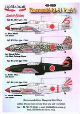 Lifelike Decals 1/48 KAWASAKI Ki-61 HEIN TONY Japanese Fighter Part 1