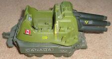RP2071 Vtg GI Joe 1987 Vehicle Tank w/ Cannon