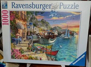 Ravensburger 1000 piece Jigsaw Puzzle - Grandiose Greece.