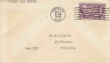 US FDC Sc # 776 Texas Centennial - US 8164