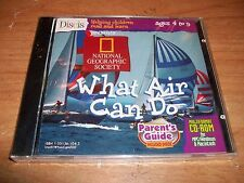 National Geographic Society What Air Can Do CD ROM WIN/MAC Ages 4 to 9 NEW