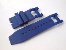 Blue Rubber Watch Band Strap For Invicta Subaqua Noma III Noma 3