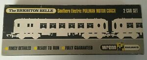 Wrenn W3006/7 Brighton Belle Pullman Brown / Cream OO gauge White Tables BOXED