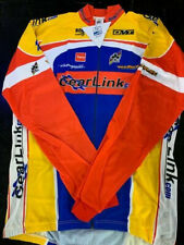 Bcm Gearlink Blue/Red Long Sleeve Cycling Jersey- Multiple Sizes