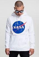 MISTER TEE Felpa Maglia con cappuccio NASA Hoody MT519 Size M