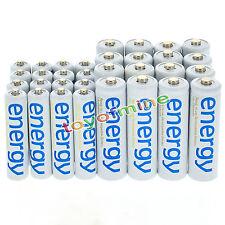 16x AA 3300mAh+16x AAA 2000mAh Energia batteria ricaricabile Bianco cellulare