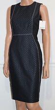 New Calvin Klein Sleeveless Elegant Dress Blue Size 10 MSRP $134