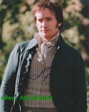MATTHEW MACFADYEN.. Pride & Prejudice's Mr. Darcy - SIGNED
