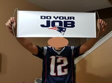 Super Bowl New England Patriots Roller Banner Football Party 3 Pack Do Your JOB