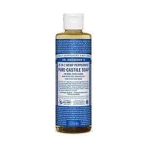 Dr. Bronner Organic Peppermint Pure-Castile Liquid Soap  237ml