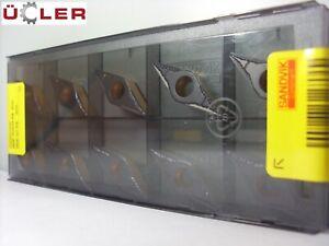 10 X Sandvik Vbmt 160408-PM 4315 Plaquettes de Coupe