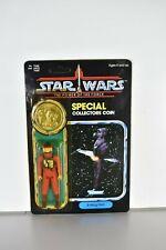 Vintage 1984 Star Wars POTF B-Wing Pilot 92-Back MOC Collectors Coin