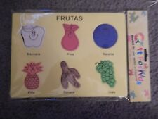 CRAFT FOR KIDS - FRUTAS YELLOW (BRANDNEW NEVER USED)