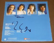 DIRE STRAITS SIGNED RECORD ALBUM COMMUNIQUE MARK & DAVID KNOPFLER VINYL LP