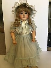 "Antique 22"" Tall Special 4 Germany Bisque Doll w/ Composition Jointed Body"