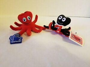 Applause Heart Ticklers Oscar & Ophelia Stuffed Octopus