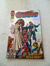 New  Titans   100  Holo-graph.x Cover . DC 1993 -   FN / VF