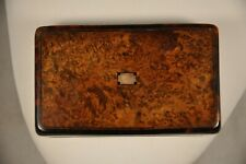 TABATIERE ANCIEN BUIS ANTIQUE 19th. c. BOXWOOD SNUFF BOX