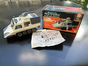 Vintage 1979 Mego Buck Rogers Land Rover Cruiser Vehicle box