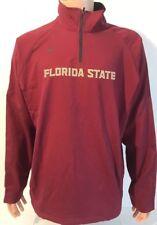 NEW Florida State Seminoles FSU Nike Large L Jacket 1/4 Zip Team Issued NCAA