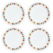 "NEW! Set of 4 Corelle Impressions Sunshine 10 1/4"" Dinner Plates"