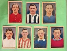 #D30.  14  SPORT AND ADVENTURE MAGAZINE SOCCER FOOTBALL CARDS - 1922