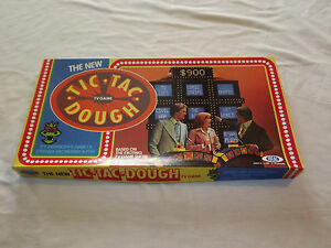 VINTAGE TOY 1977 IDEAL TIC TAC DOUGH  GAME