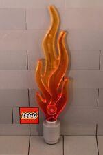 LEGO: Large Flame (85959px1) Tr. Dark Orange Blended **Two per Lot**