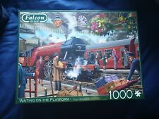 Jumbo 11250 Falcon de Luxe-Waiting on The Platform 1000 Piece Jigsaw Puzzle