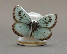 Fingerhut Fingerhüte Porzellan Schmetterling Bläuling Falter