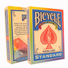 Rainbow Bicycle Cards - Funky Bicycle Deck - Rider Back USA Made - Poker Size