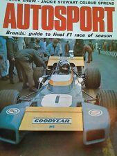 Autosport October 21st 1971 *Laguna Seca Can Am*