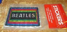 BEATLES STICKER COLLECTIBLE RARE VINTAGE 1990'S METAL LIVE WINDOW DECAL