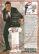 X7971 CANTA TU - Fiorello - Giochi Preziosi - Pubblicità 1994 - Vintage advert.