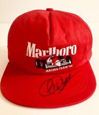 Vintage Marlboro Racing Team 92 Indy Snapback Hat Signed by Roger Penske