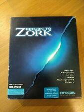 Volver a Zork juego pc caja grande completo gastos de envío gratis