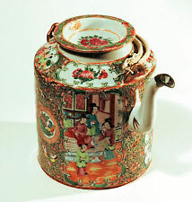Antica Teiera Porcellana Cinese Antique Chinese Porcelain Teapot 19th cent Vase